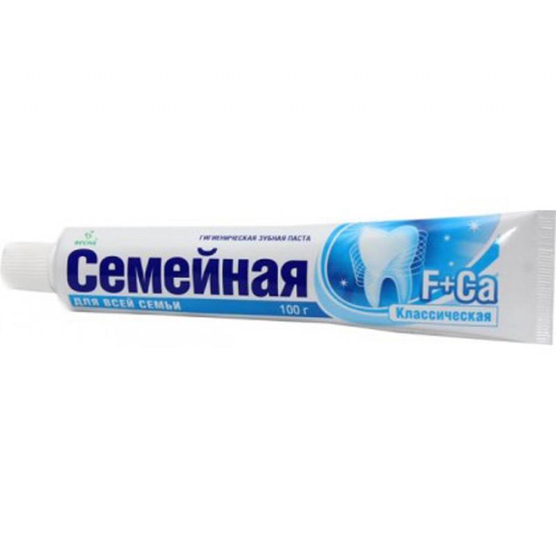 Зубная паста СЕМЕЙНАЯ 100г