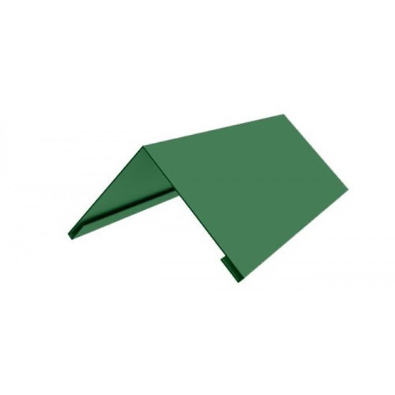Накладка коньковая 140*140 2м (6002) Зеленая листва
