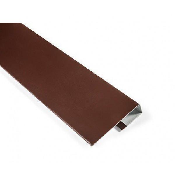 J Профиль 2м (30*20*20) 8017 (Шоколад) /30шт