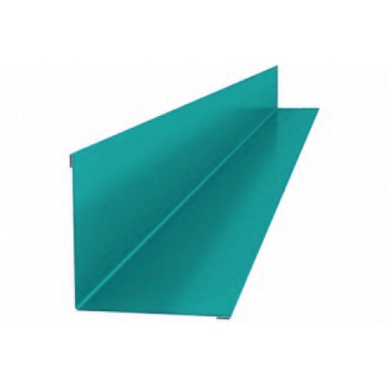 Угол внутренний 2м (50*50) 5021 (бирюза) /50шт