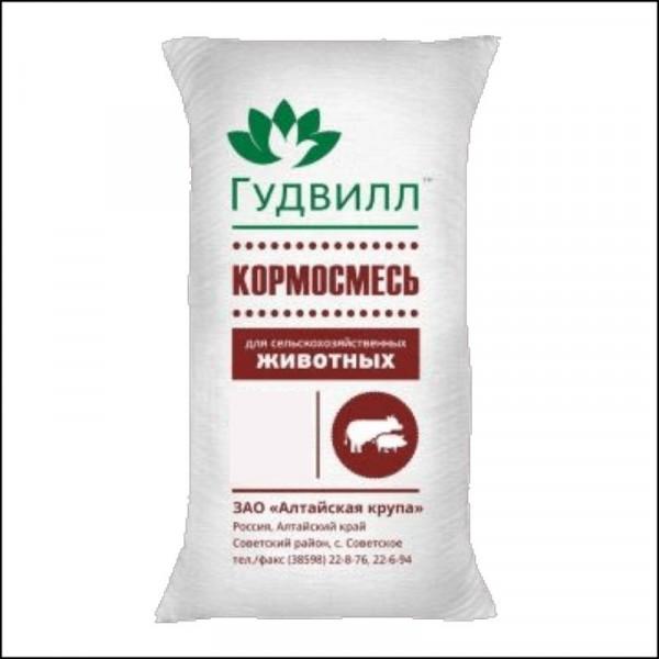 Корм-сь /38кг  ГУДВИЛЛ