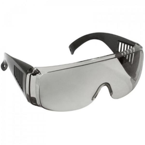 Очки защитные дымчатые с дужками ФИТ 12218