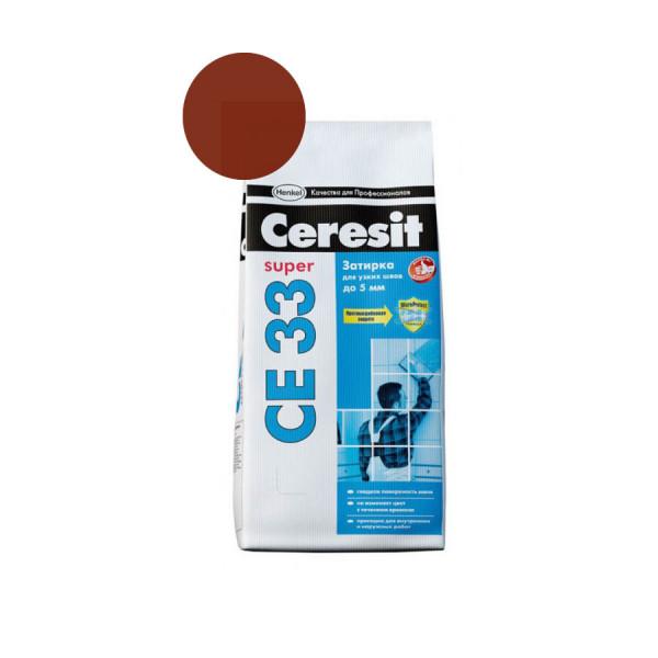 Затирка Ceresit 2кг какао
