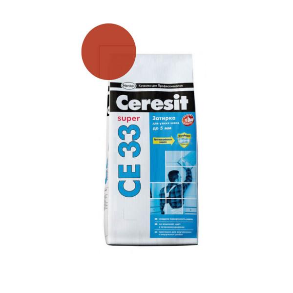 Затирка Ceresit 2кг кирпич