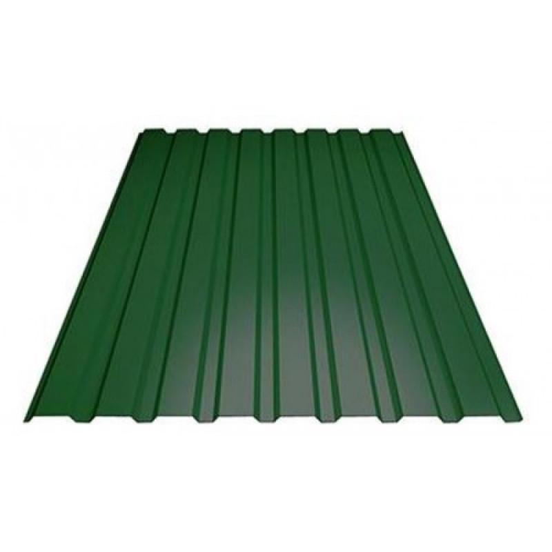 Профлист МП-20 (ОН) 6*1,15  6,9 м/2 Зеленый мох 6005 ЭКОНОМ