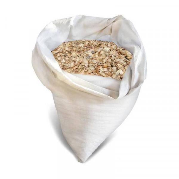 Ракушка морская дробленная  калиброванная  ,мешок 2 кг