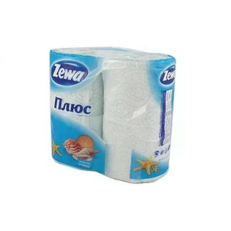 Туалетная бумага  Зева 2х сл./4рул/