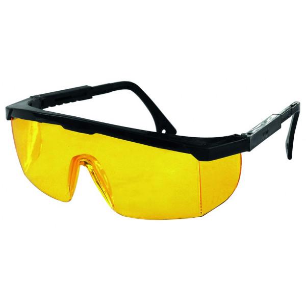 Очки защитные открытые, желтые, ударопрочный полик. (89157
