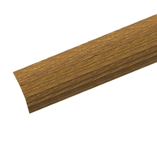 Универсальный стык 28мм 0,9 дуб темный