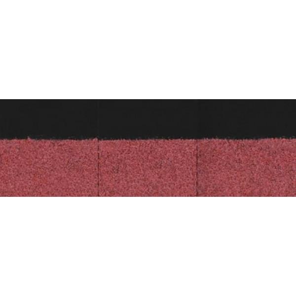 Коньково-карнизная черепица Деке красный 22шт