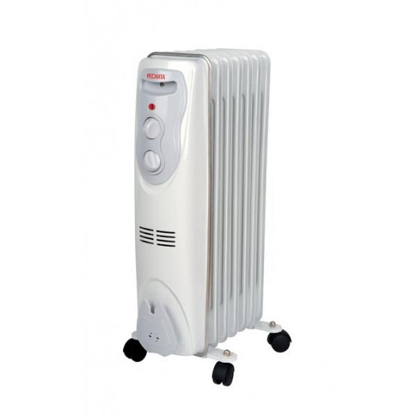 Масляный радиатор ОМ-7Н (1,5 кВт) Ресанта