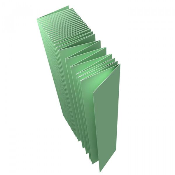 Подложка п/ламинат гормошка 2мм Aberhof/0.5м/ упак-10,5 м2