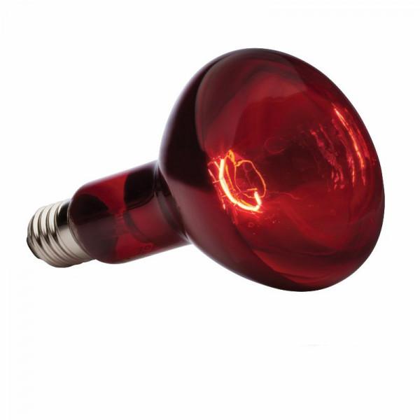 Лампа ИКЗК215-255 250 Вт Е27 красная