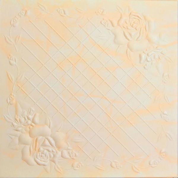 Плитка потолочная 2064 С /агат бежев/ 0,50*0,50м (8шт)