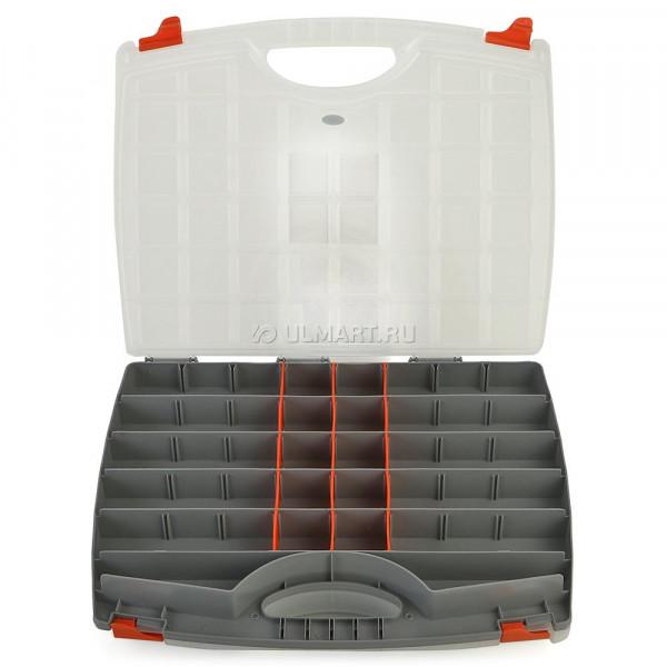 Органайзер двухстроронний 425*330*85 мм пластик.STELS (90710)