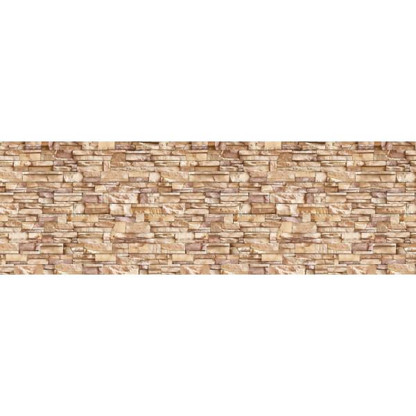 Панель отделочн. АБС  Камень соренто №471  600*3000 пластик