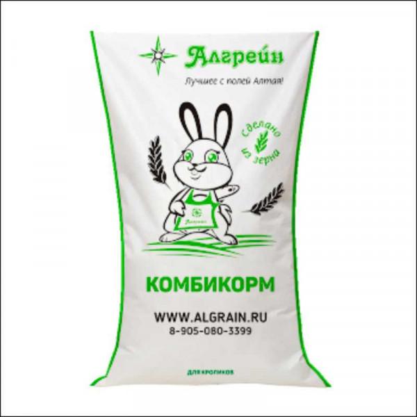 """Комбикорм для кроликов (""""Алгрейн) 35 кг"""