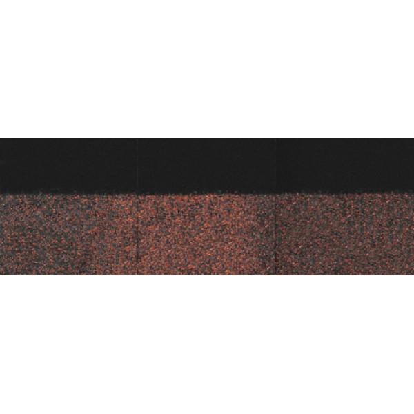 Коньково-карнизная черепица Деке PIE GOLD Изюм-Слива 11/22 п.м.