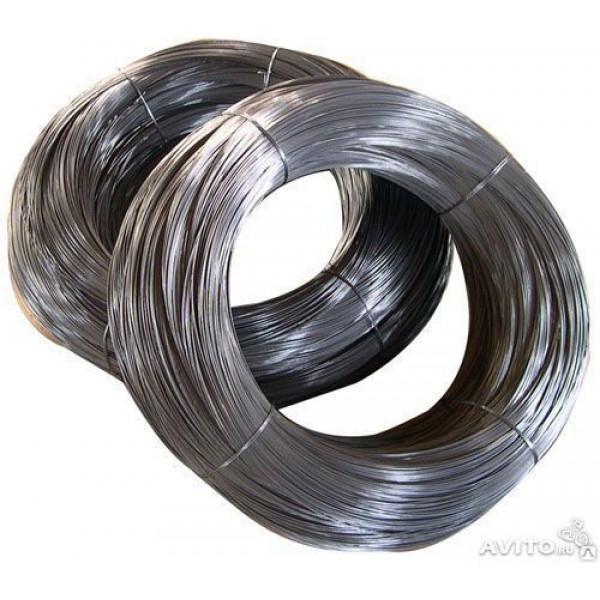Проволока Т/О  1,2мм бухта 5 кг (вязальная)