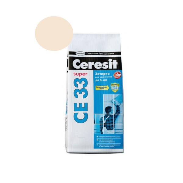 Затирка Ceresit 2кг натура