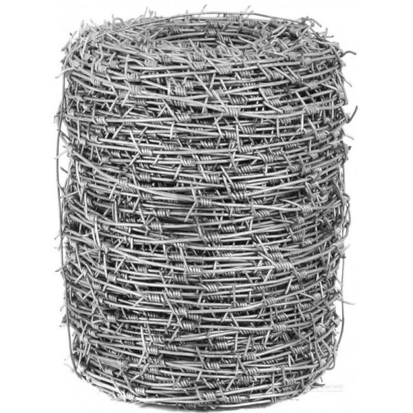 Проволока колючая д.2,8мм ЦИНК (250м)