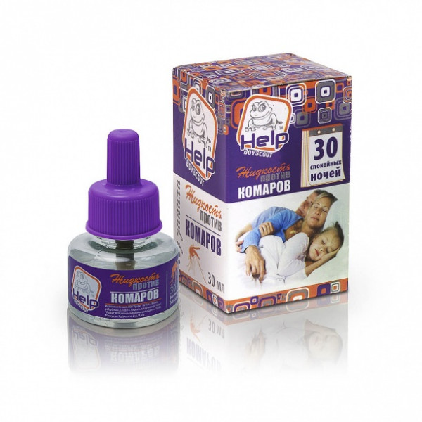 Жидкость от комаров 30 ночей HELP