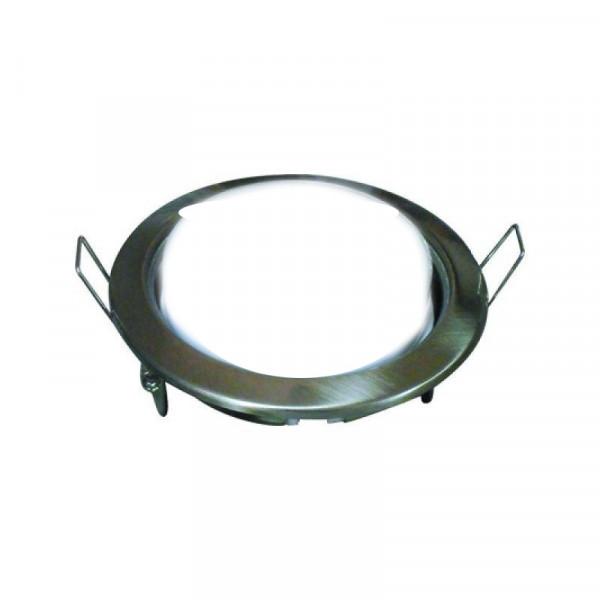 Светильник точечный Ecola GX53-H4  38*106 хром