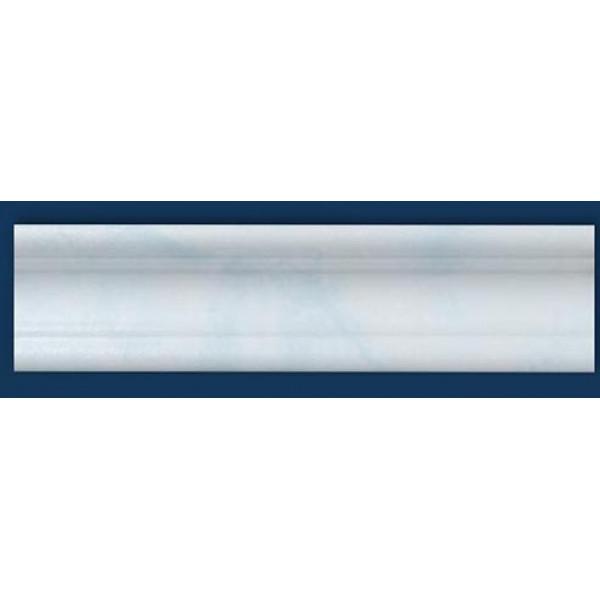 Плинтус потолочный Р-02 Агат голубой 35*35 1м