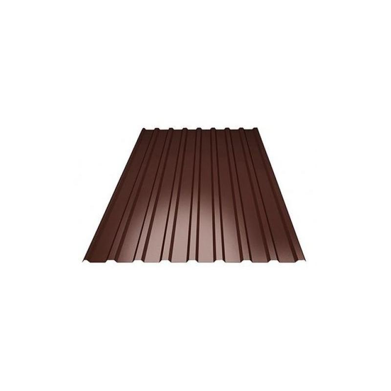 Профлист МП-20 (ОН) 6*1,15  6,9 м/2 Шоколад 8017