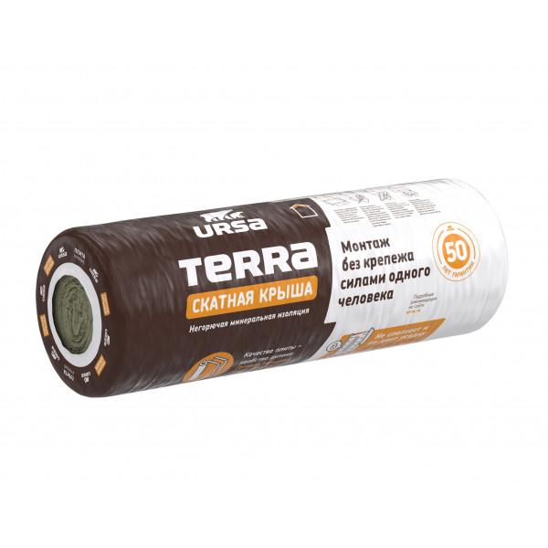 УТЕПЛИТЕЛЬ URSA TERRA 3900-1200-150 (рулон) Скатная крыша 2096684