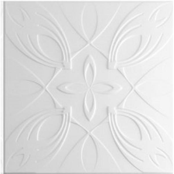 Плитка потолочная 2052 С /белый/ 0,50*0,50м (8шт)