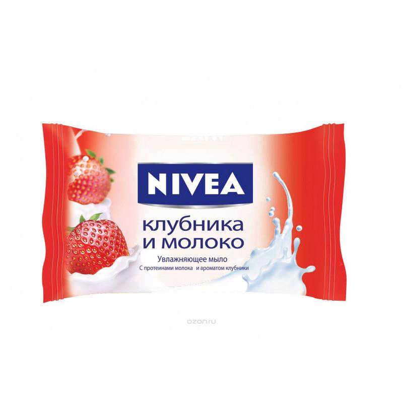 Мыло Nivea 90г Клубника