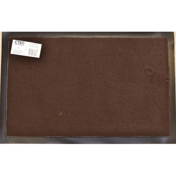 Коврик придверный 90*150см Степ коричневый