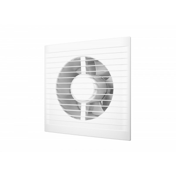 Вентилятор Е 100 S С, (D=100, V=90m3/h) обратный клапан