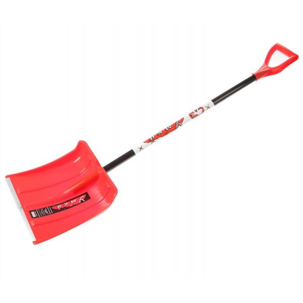 Лопата снеговая пласт. с черенком алюм. 380*370мм Умка