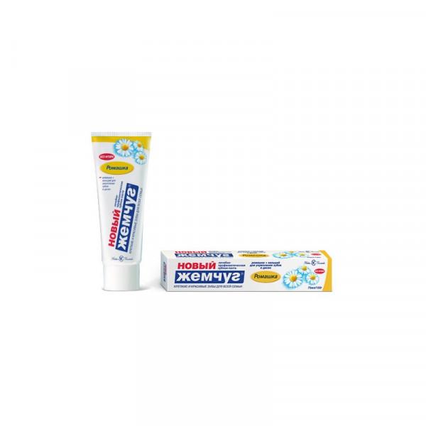 Зубная паста ЖЕМЧУГ-Н 100мл с ромашкой