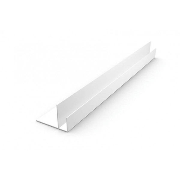 Профиль отделочный F-образный 60мм 3м  /50шт