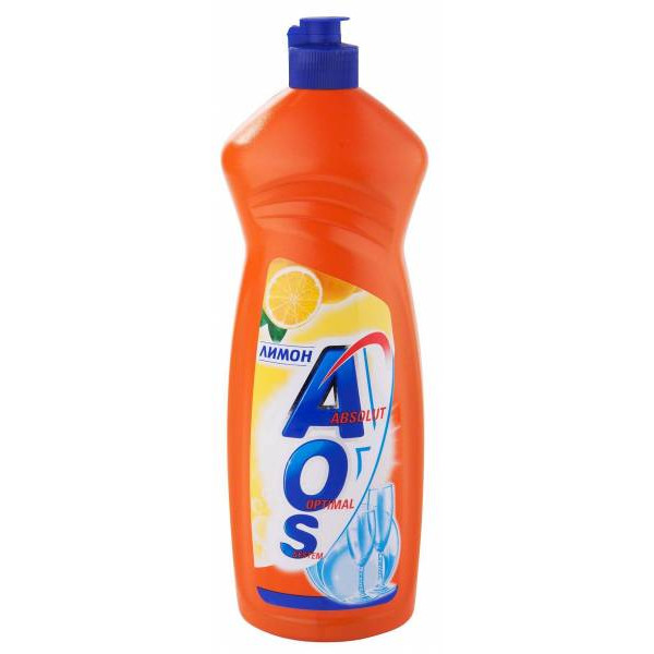 Жидкость д/посуды АОС 900мл Лимон