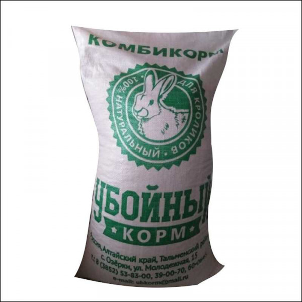 Убойный корм для кроликов и пушных зверей (гран.4мм) 35 кг(17-14)