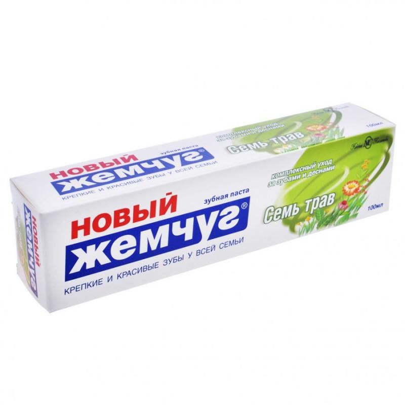 Зубная паста ЖЕМЧУГ-Н 100мл 7 трав