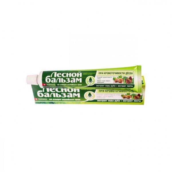 Зубная паста Лесной бальзам 75мл кора дуба+пихта
