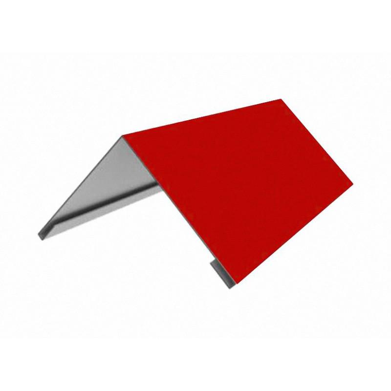 Накладка коньковая 140*140 2м (3011) (Красный)