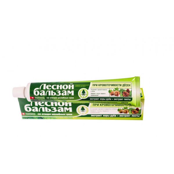 Зубная паста Лесной бальзам 50мл кора дуба+пихта