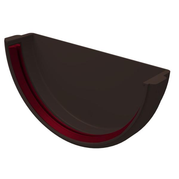 Заглушка желоба Grand Line Шоколадный