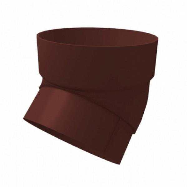 Колено трубы Grand Line 45гр Шоколадный