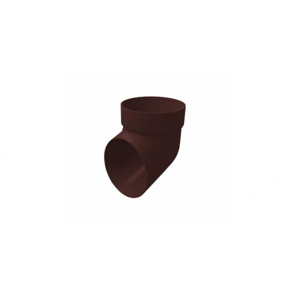 Колено сливное Grand Line ПВХ Шоколадный