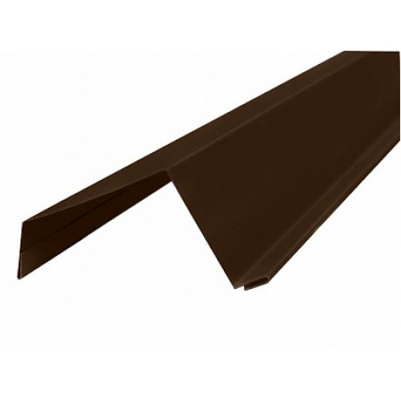 Ветровая планка 2 м 8017 (Шоколад)