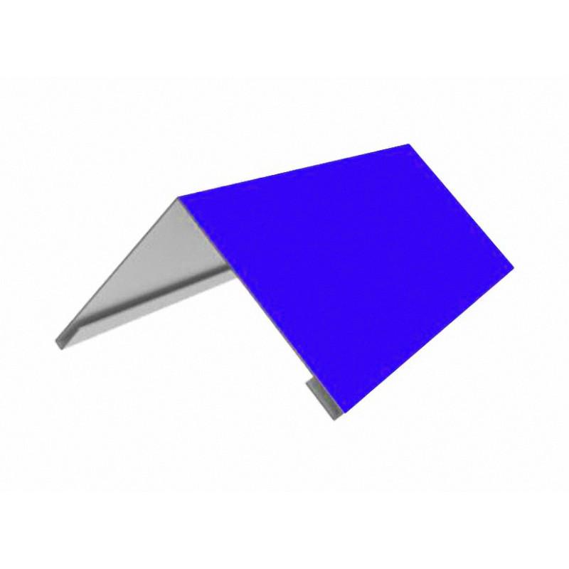 Накладка коньковая 140*140 2м (5005) (Синий)