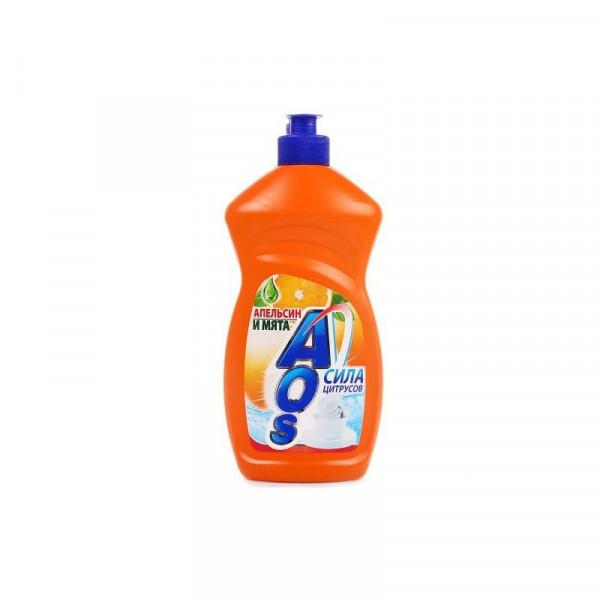 Жидкость д/посуды АОС 450мл Апельсин и Мята