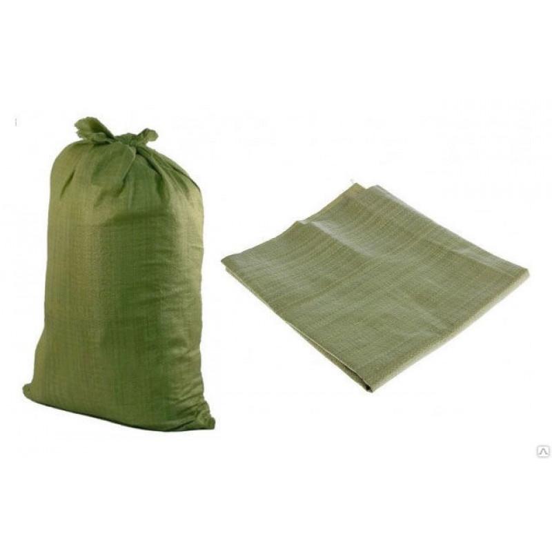 Мешок п/п для строит. мусора (зелёный) /10шт/